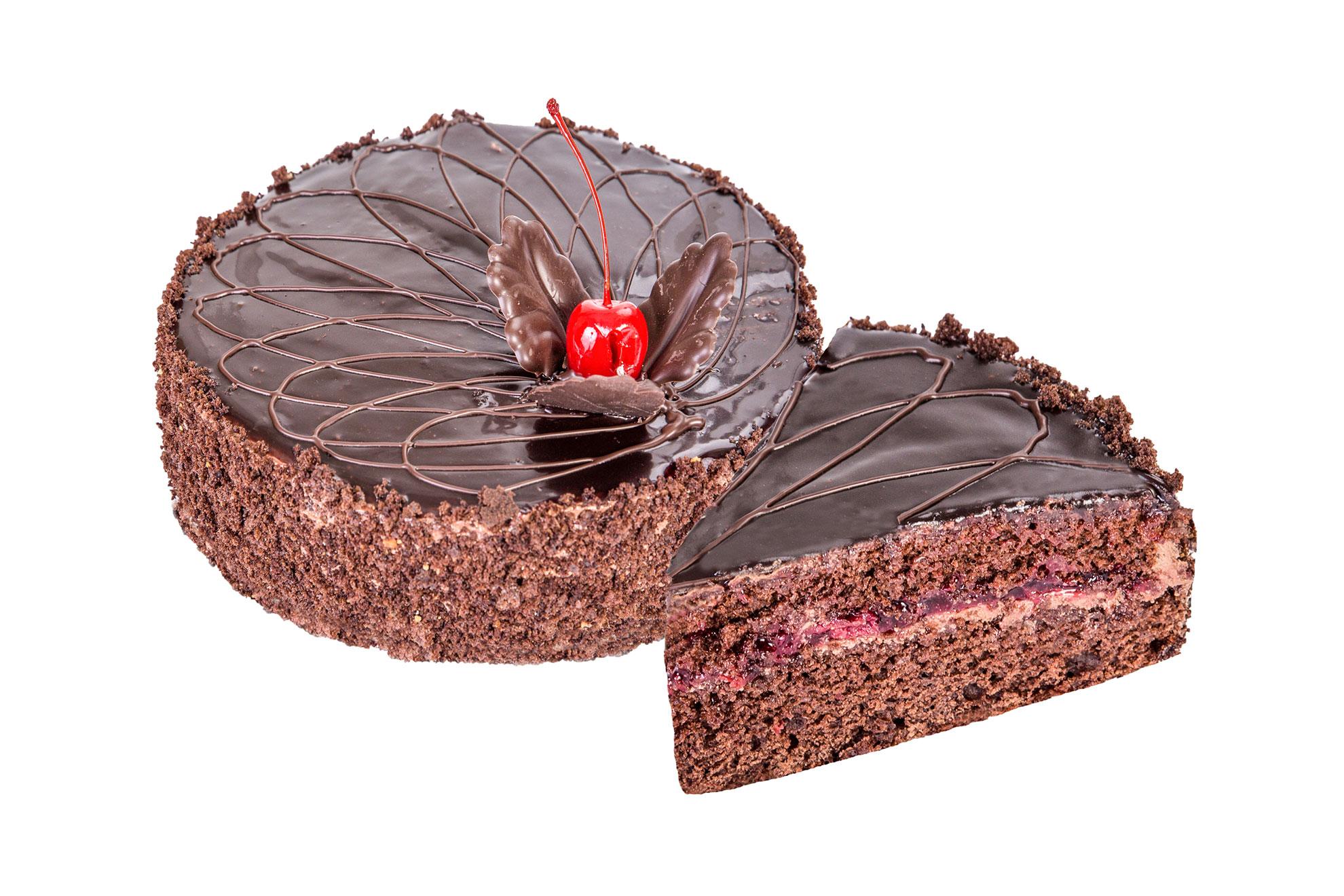 Торт «Прага з вишнею» – Кондитерська фабрика Квітень
